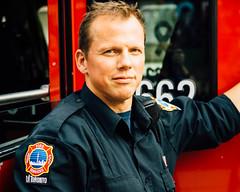 Firefighter @ Panamania Live (fisheye8mmf8) Tags: toronto canada cityhall fireman firefighter nathanphillipssquare panamgames panamanialive