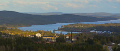 Torsby and Övre Fryken, view from Valberget (ba7b0y) Tags: torsby fryken övre valberget