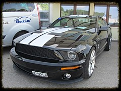 Ford Mustang Shelby GT 500, 2008 (v8dub) Tags: auto classic ford car t schweiz switzerland automobile suisse muscle g automotive voiture pony american shelby mustang 500 2008 collector wagen pkw klassik bleienbach worldcars