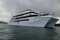 YWAM PNG Medical Ship (sita's master) Tags: ocean new bay guinea boat pacific ships medical png ywam papua milne mapas melanesia doublehull suloga