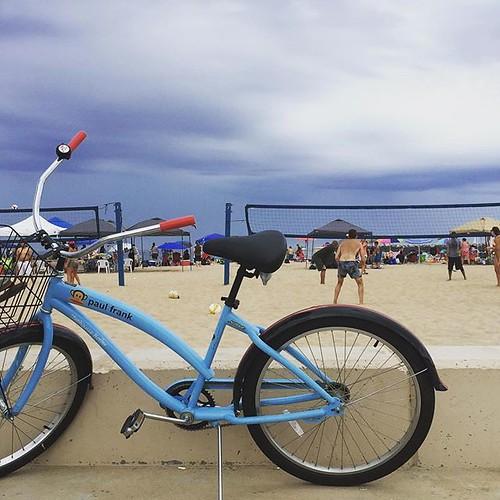 #beach #bike