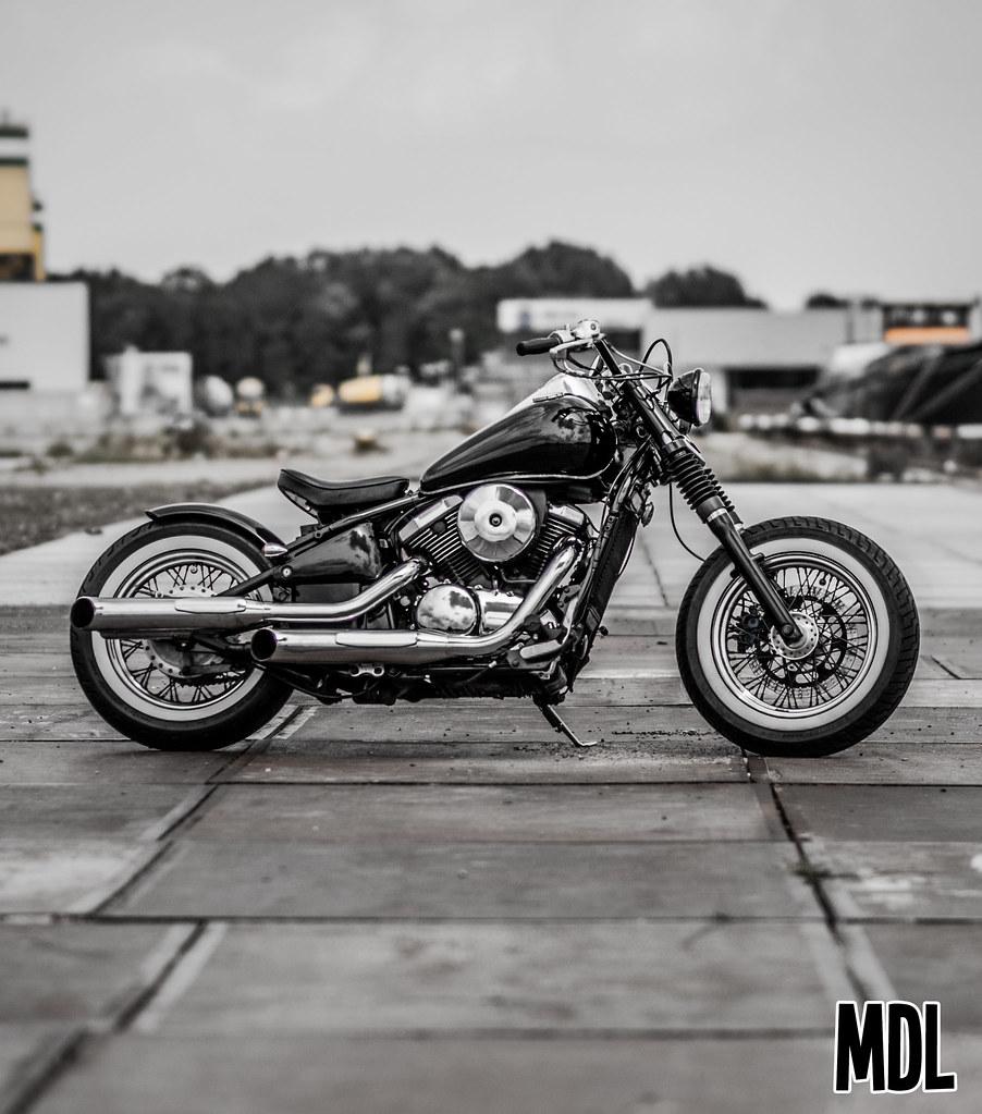 4 MDL Motografie Tags Honda Chopper 600 Vulcan Custom 800 Vt Kawasaki