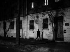 (Stella Trasforini) Tags: streetphotography blackandwhite night olympuspen biancoenero monochrome