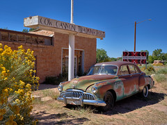 Cow Canyon Trading Post - My Car... (W_von_S) Tags: cowcanyontradingpost oldtimer buick car auto usa us amerika america utah soothwest iconic kult bluff südwesten 1949 rost rust wvons werner sony outdoor