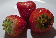 """Fresh And Ready To Eat"" (rodburkey) Tags: macro strawberries"