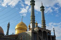 Fatima Masumeh Shrine, Qom (ruben garrido lopez) Tags: iran persia nikond5100 arquitectura arquitecture mezquita mosque qom fatimamasumehshrine