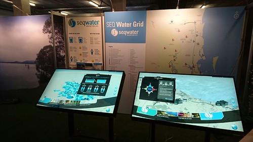 Seqwater Ekka Installation: Stall Setup
