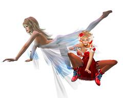 TerraMerhyem_&_Aicha_2016_12 (TerraMerhyem) Tags: femme woman women girl mode fashion belle beauté beauty elegante elegance deux duo two rouge blanc white red femmes jolie mannequin model topmodel terramerhyem merhyem sexy