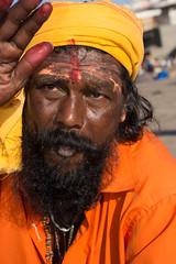Nasik - Holy man (JohnMawer) Tags: nasik nashik maharashtra india in