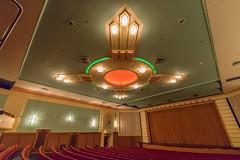 Municipal Theatre Interior, Napier, NZ (stephenk1977) Tags: newzealand nz northisland napier art deco architecture design nikon d3300 municipal theatre interior ceiling