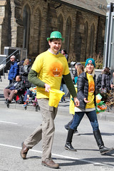 Pieta House (Can Pac Swire) Tags: toronto ontario canada canadian irish stpatricksday parade people man women woman men children bloorstreet west w avenueroad culture cultural aimg7638 pieta house darknessintolight suicideprevention selfharmprevention tall guy long bloke