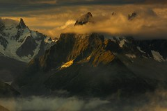 Grand Charmoz & the Chamonix Peaks - Out of the Clouds (Explored) (sunstormphotography.com) Tags: aiguilledesgrandcharmoz chamonix france frenchalps thealps grandcharmoz chamonixaiguilles aiguilledeblaitiere canon24105l canon5dmark3 landscape mountains ndgradfilter polarisingfilter aiguilledugrepon