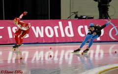 World Cup Kearns Ice Oval Russia vs USA Heather Richardson 2-19-2011 (steveellis12) Tags: wordcup
