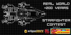 Real World + 200 Starfighter Contest (Si-MOCs) Tags: starfighters legostarfighters rw200 realworldstarfighter legocontest contest freelego build better than me plz