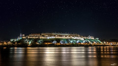 Petrovaradin at night