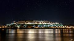 Petrovaradin at night