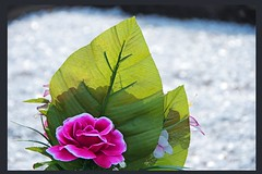 multi facet memories (Leonard J Matthews) Tags: fabric tribute honour cloth memory memories multifacet caboolture queensland cemetery australia mythoto