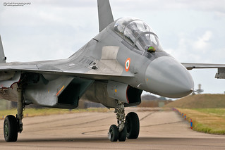 Indian Air Force Sukhoi SU30 Flanker