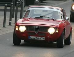 Oldtimer: Rollendes Museum Wiesbaden; Alfa Romeo GTA (Christopher DunstanBurgh) Tags: oldtimer rollendesmuseumwiesbaden alfa romeo gta