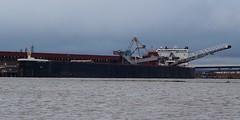 American Integrity loading coal (rexp2) Tags: boat greatlakes lakesuperior laker freighter selfunloading duluthsuperiorharbor sonynex5n nikkor135mmf35ltmrangefinder vacationspring2013