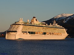 Radiance of the Seas (B737Seattle) Tags: cruise water alaska boat nikon ship radiance royal vessel line juneau ms coolpix caribbean luxury channel seas liner gastineau radianceoftheseas p510