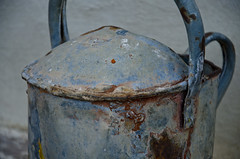Rusted jar (Lourens SA) Tags: old abstract nikon rust vibrant character kettle story worn jar colourful emotional appliance d7000