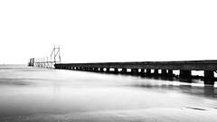 Pontile_Jesolo (iPol85) Tags: sea bw italy beach 5d jesolo canon1740 bigstopper