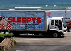 Isuzu - Sleepys (Jacques Trempe (1,530,000 hits - Merci - Thank You) Tags: york beach advertising maine publicity publicite vehicule sleepys