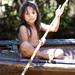 Yagua Tribe little Girl