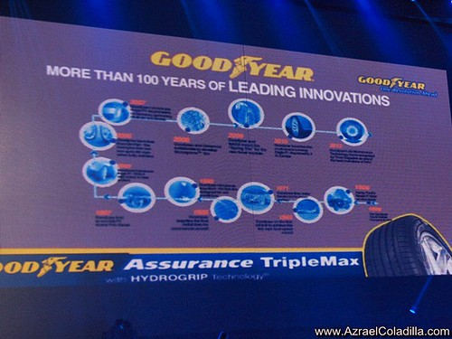 Goodyear Assurance Triple Max tire launch event - photos by Azrael Coladilla