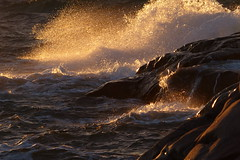 (evisdotter) Tags: light sunset water evening waves sunny cliffs splash sunsetlight geta åland sooc vanagram platinumpeaceaward mygearandme mygearandmepremium mygearandmebronze mygearandmesilver mygearandmegold mygearandmeplatinum mygearandmediamond