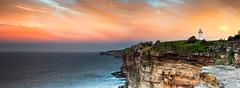 Lighthouse in colors (Kash Khastoui) Tags: sunset lighthouse colors bay sydney australia nsw macquarie watsons khashayar khastoui