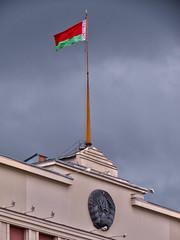 Presidential palace of Belarus (ChristopherNul) Tags: emblem flag president palace presidential alexander belarus residence minsk lukashenko