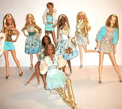 Everything They Touch Turns to Gold (Dia 777) Tags: gold dolls goddess barbie grace lara teresa sis juicycouture diva shani belks mbili goneplatinum soinstyle barbiebasics modelno11 dia777 modelno8 barbiebasicscollection20 barbiebasicscollection25 loungekittiesleopard