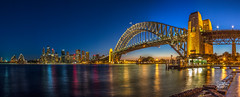 Transition (Mike Hankey.) Tags: sunset focus sydney operahouse harbourbridge kirribilli