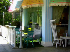 Pastel Colored Bakery (2013) (phillipians12004) Tags: rollei chairs restaurants tables