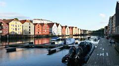 Trondheim, Norway (ClickSnapShot) Tags: city travel norway quay trondheim besttravel ilobsterit