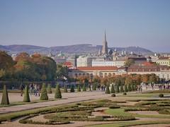 Nice autumn colors in Vienna (markusriedl) Tags: vienna wien autumn summer colors lumix 5 indian belvedere g6 nikkor55mm3