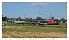 IR Brig-Genève à Nyon (CC72080) Tags: nyon cff re460 interrégio