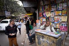 Book Market (Leonid Plotkin) Tags: india man asia books bookstore bookshop kolkata bengal calcutta westbengal bookmarket