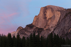 20131001-86-Half Dome sunset from Yosemite Valley meadow.jpg (Roger T Wong) Tags: california pink sunset vacation usa holiday nature america trek outdoors nationalpark twilight purple unitedstates walk unitedstatesofamerica meadow hike valley yosemite granite halfdome yosemitenationalpark np tramp canonef24105mmf4lisusm canon24105 canoneos6d