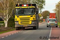 SCANIA P420  13 11 07_049-c4 JVL-Holland (JVL.Holland John & Vera) Tags: netherlands canon europe transport nederland westland vrachtwagen vervoer scaniap420 jvlholland