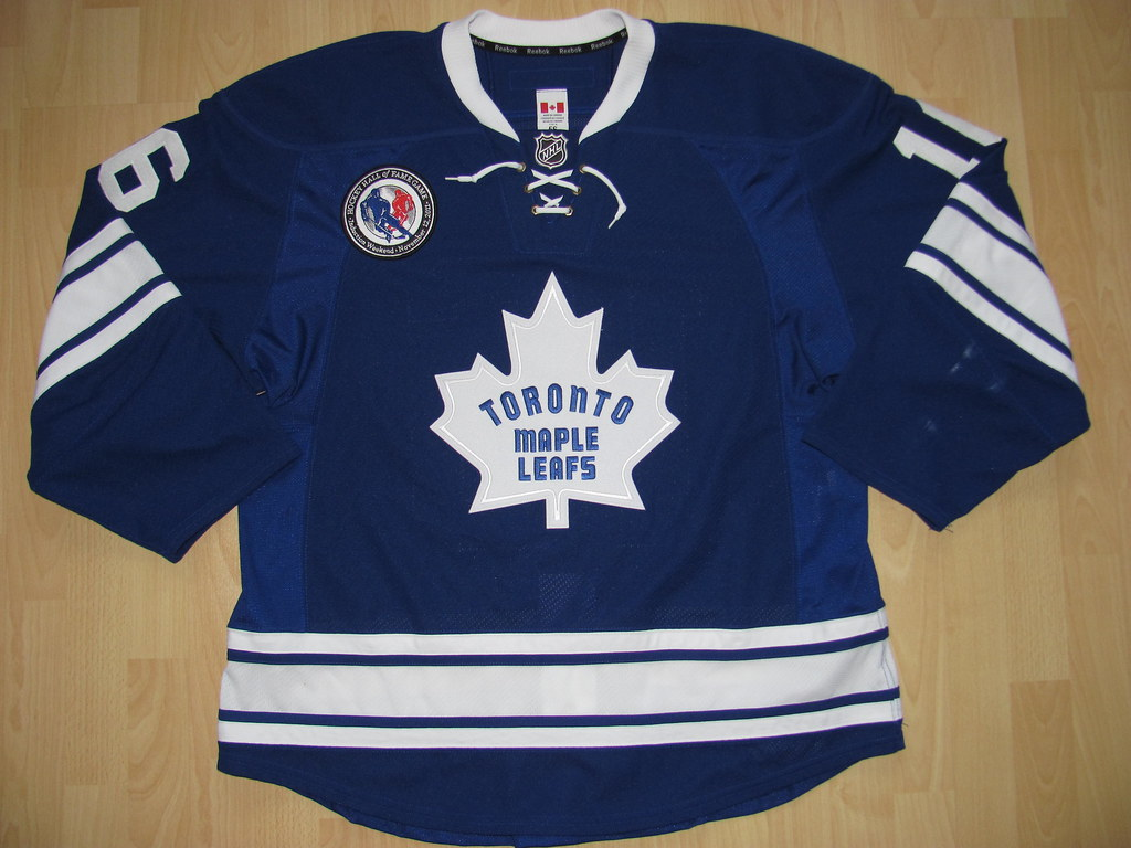 Toronto Maple Leafs 2011 - 2012 alternate Game Worn Jersey  (kirusgamewornjerseys) Tags  game 11ced4fe6