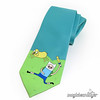 Hand-Painted Adventure Time Necktie (magicbeanbuyer) Tags: blue wedding men nerd groom hand jake geek time handmade painted cartoon tie adventure handpainted accessories finn groomsmen necktie geeky nerdy cartoonnetwork accessory adventuretime magicbeanbuyer