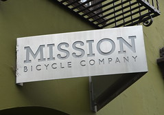 Mission Bicycle Company (afagen) Tags: sf sanfrancisco california sign bayarea missiondistrict themission missionbicyclecompany
