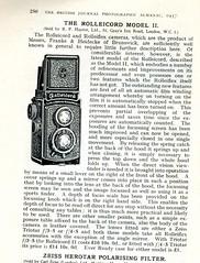 The Rolleicord Moldel II 1937 (Nesster) Tags: camera vintage magazine print photography ad photographic advertisement advert presentation 1937 almanac advertorial britishjournal