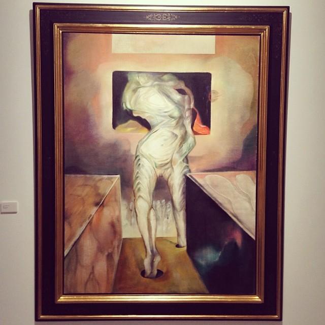 """""""L'ange fou"""" 1970 • """"El Pasado Presente"""" de Gerardo Chávez #art #arte #arteenlima #artinlima #artista #artist"""