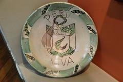 Lima Exposicin Centro Cultural Raices Peru 23 platos de ceramica (Rafael Gomez - http://micamara.es) Tags: ceramica peru de lima centro per cultural platos exposicin raices
