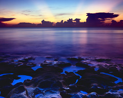Pleistocene Dawn (josesuro) Tags: film sunrise landscapes florida fineart stuart velvia 4x5 2009 largeformat drumscan hutchinsonisland floridaeastcoast fineartweb ebonysv45ti jaspcphotography josesuro