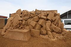 Frankston (rijerse) Tags: sculpture detail art work artwork sand waterfront artistic awesome great fine shapes sculptuur australia form shape sandsculpture storyland sculptor frankston intricate sculpting shaping sandsculpting